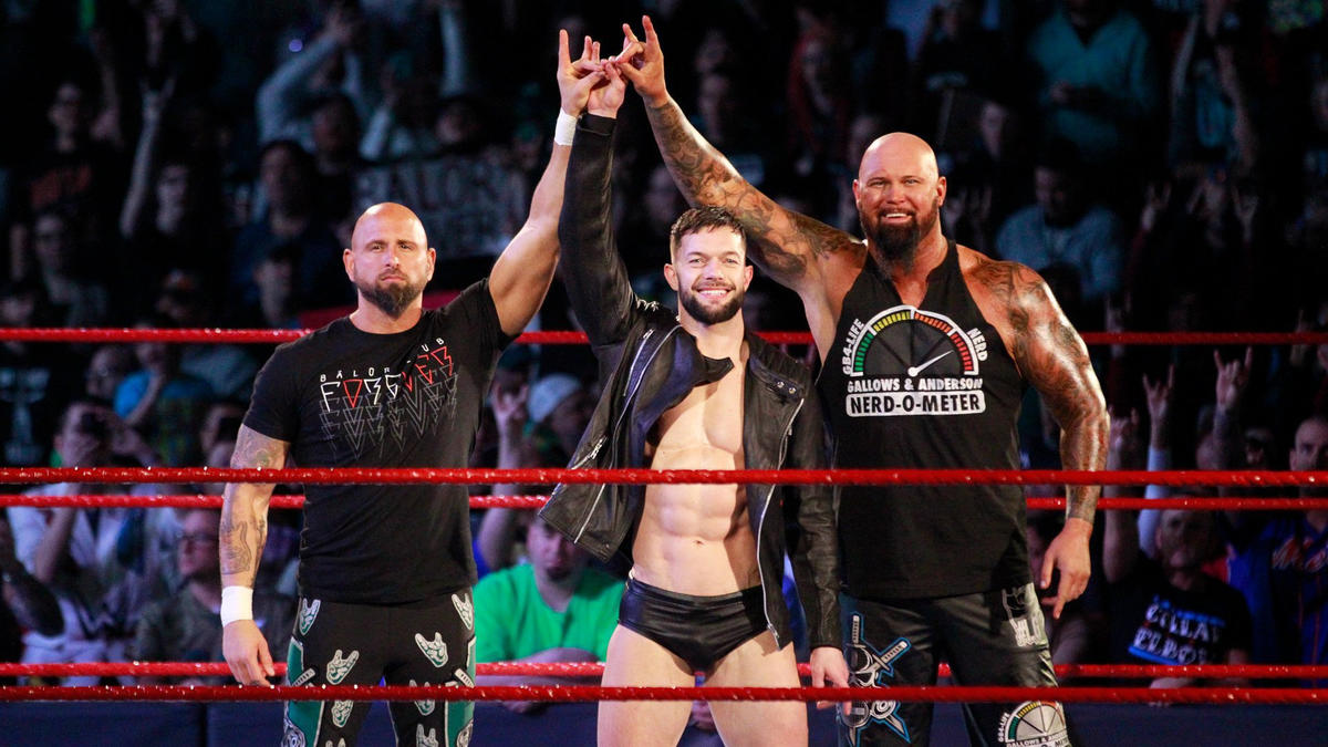 Image result for Karl Anderson and Finn Balor wwe