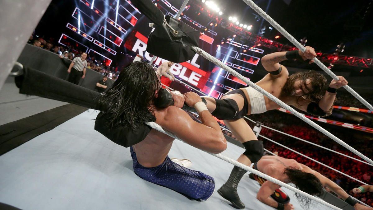 NXT's Adam Cole battles through pain to seize the opportunity that only the Royal Rumble Match can provide.
