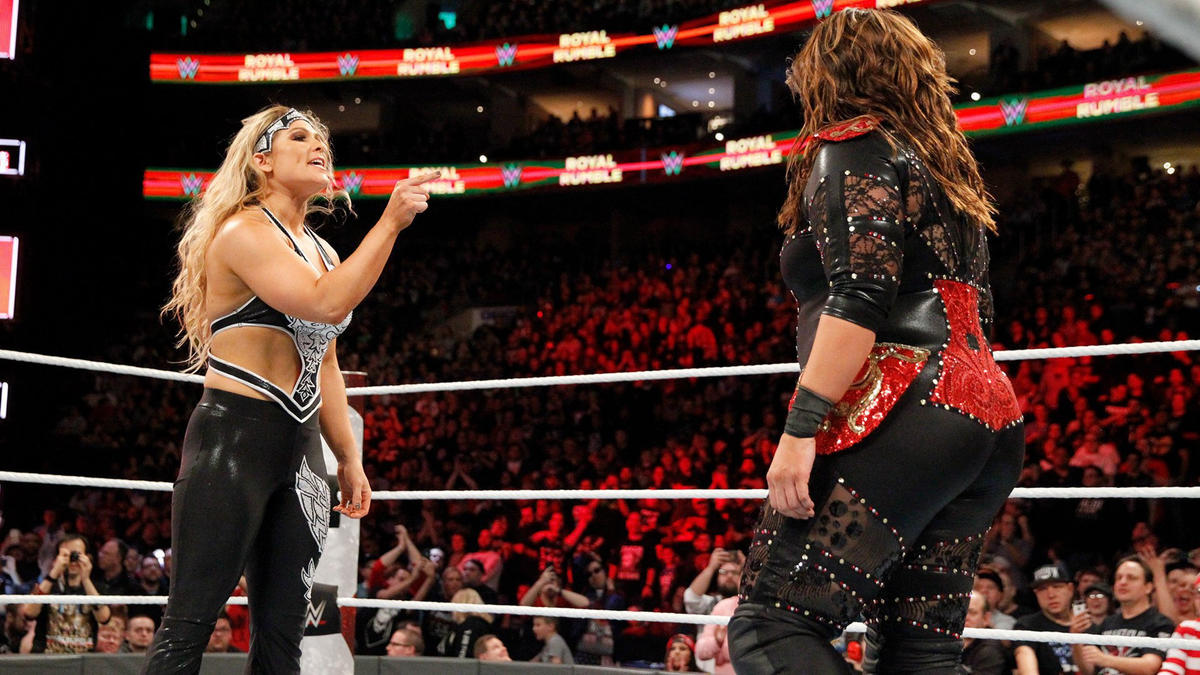 The WWE Universe erupts when WWE Hall of Famer Beth Phoenix makes a shocking return and confronts Nia Jax.