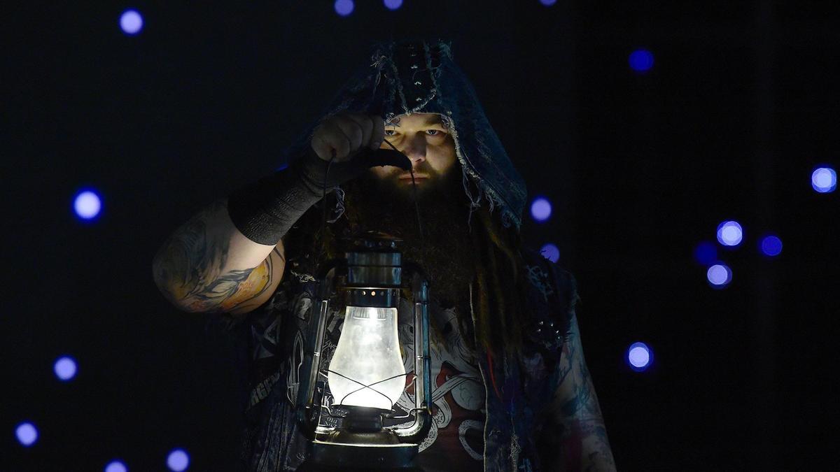 Bray Wyatt kicks off Team Red ready for a fight.