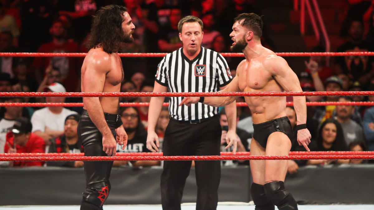 Seth Rollins vs Finn Balor WWE
