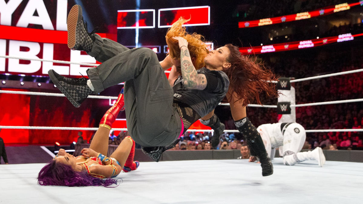 The Women's Evolution took center stage on The Road to WrestleMania as the first-ever Women's Royal Rumble took place on Jan. 28, 2018.