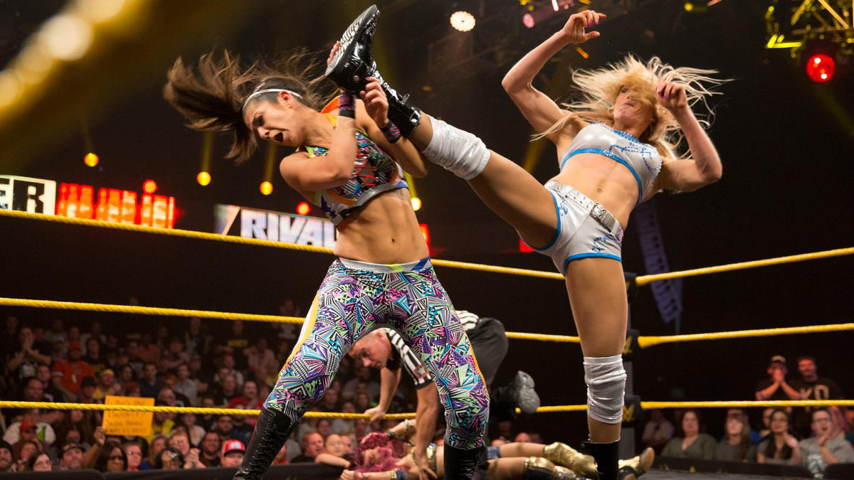 The Four Horsewomen squared off against one another at NXT TakeOver: RIVAL in a match that made the whole WWE Universe take notice.