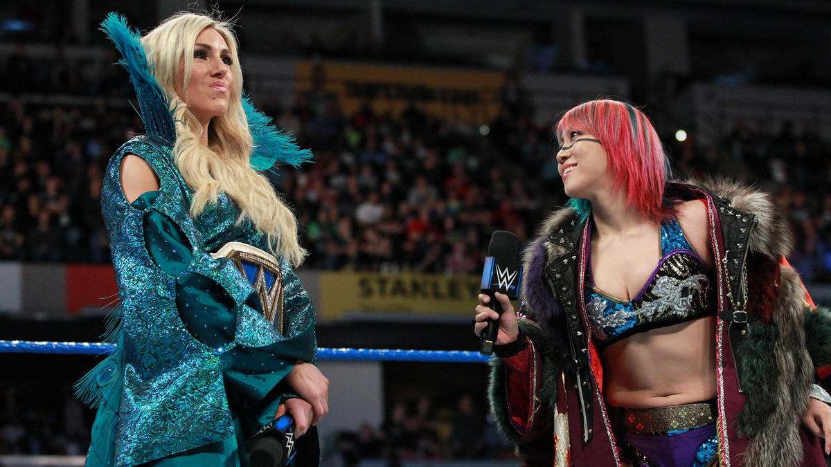 "Asuka chose Charlotte because ""she likes a challenge,"" and she wants to defeat The Queen."