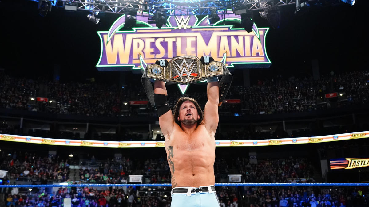 Styles remains WWE Champion heading into WrestleMania.