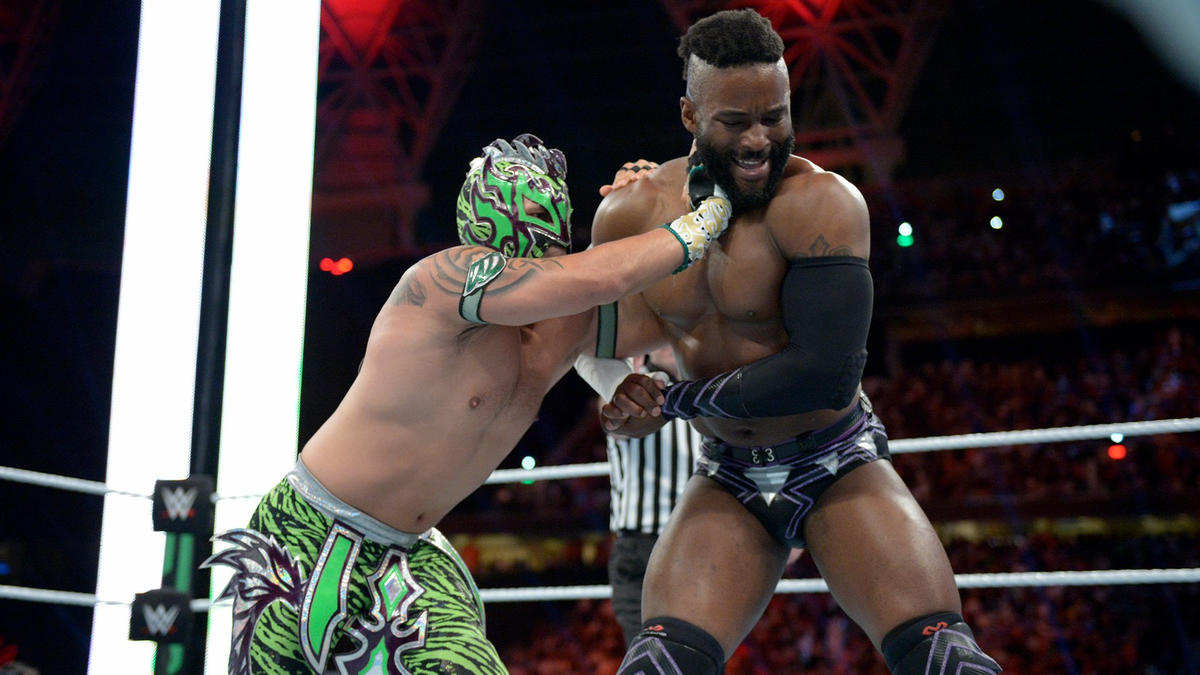 Cedric Alexander vs. Kalisto - WWE Cruiserweight Championship ...