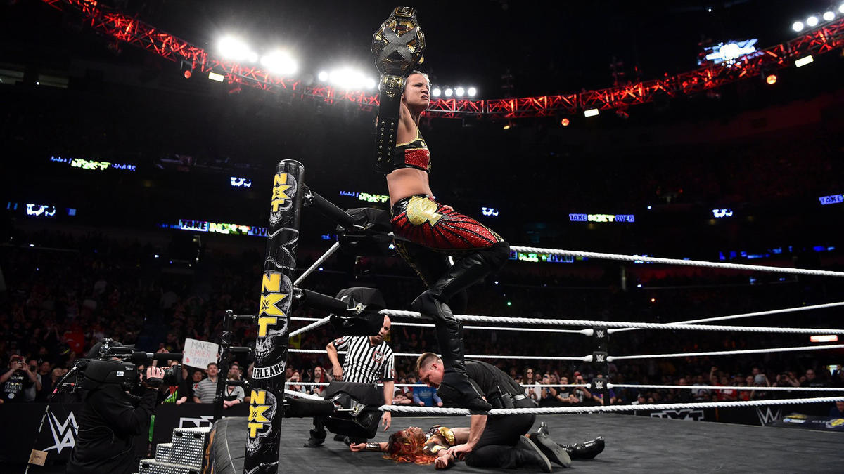 Baszler doesn't care what her critics say about her ruthless tactics. She's left holding the NXT Women's Title.