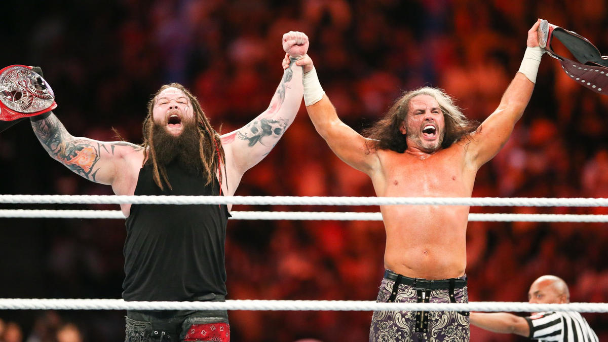 """""""Woken"""" Matt Hardy and Bray Wyatt complete their expedition of gold!"""