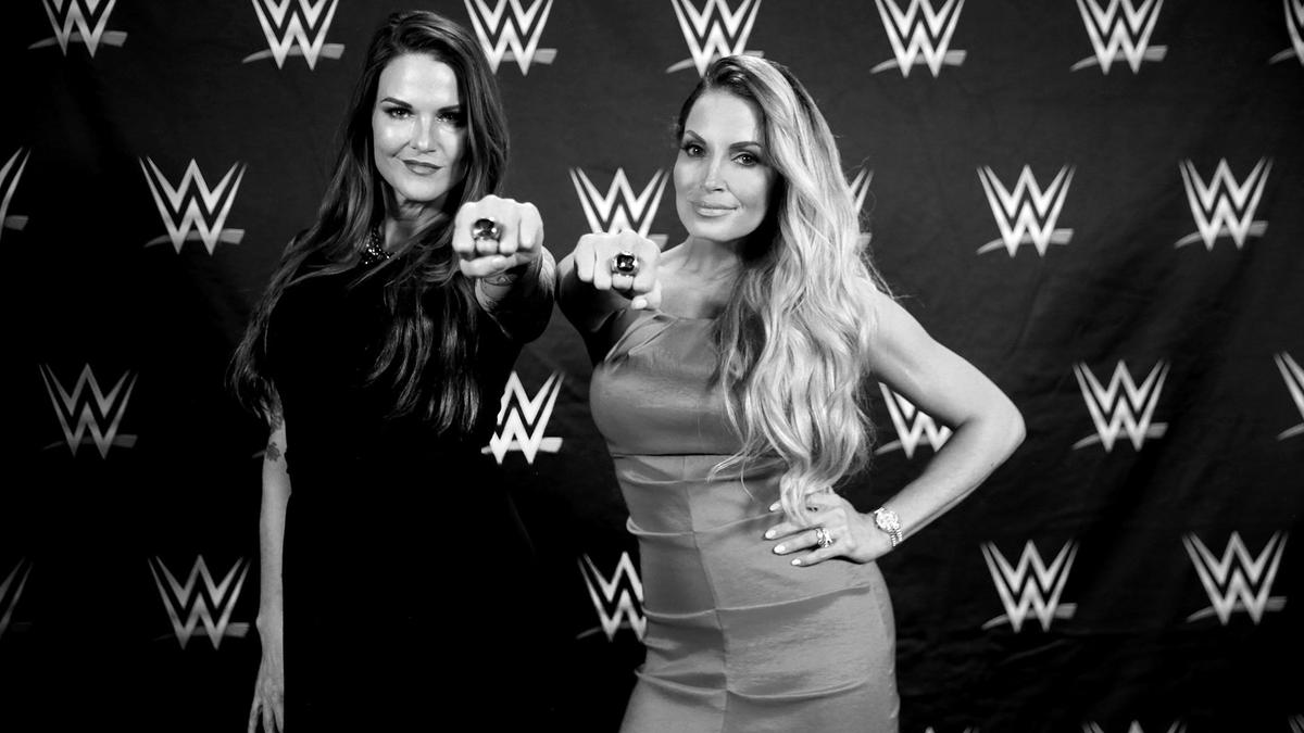Behind the scenes at the 2018 WWE Hall of Fame induction