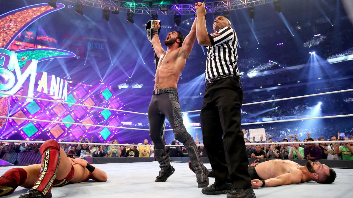 Rollins claims the Intercontinental Title and becomes a Grand Slam Champion following a hard-fought battle!