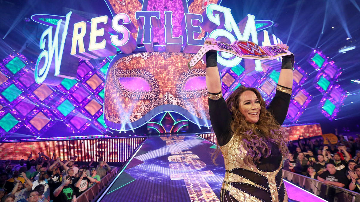 Nia Jax vanquishes her former best friend and claims the Raw Women's Championship on The Grandest Stage of Them All!