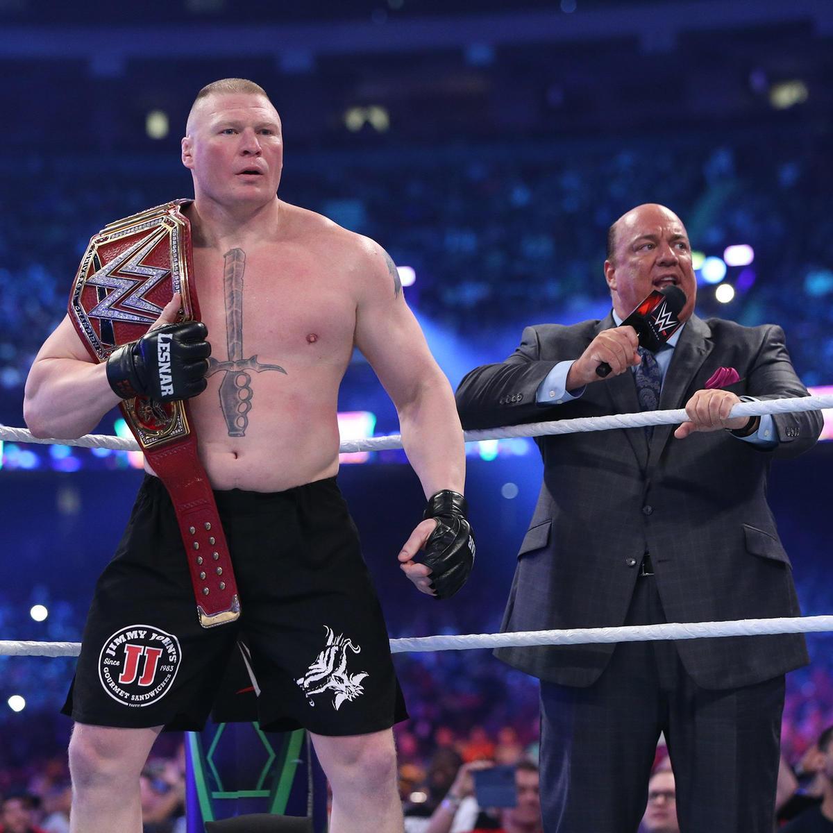 Brock Lesnar Vs Roman Reigns Universal Championship Match