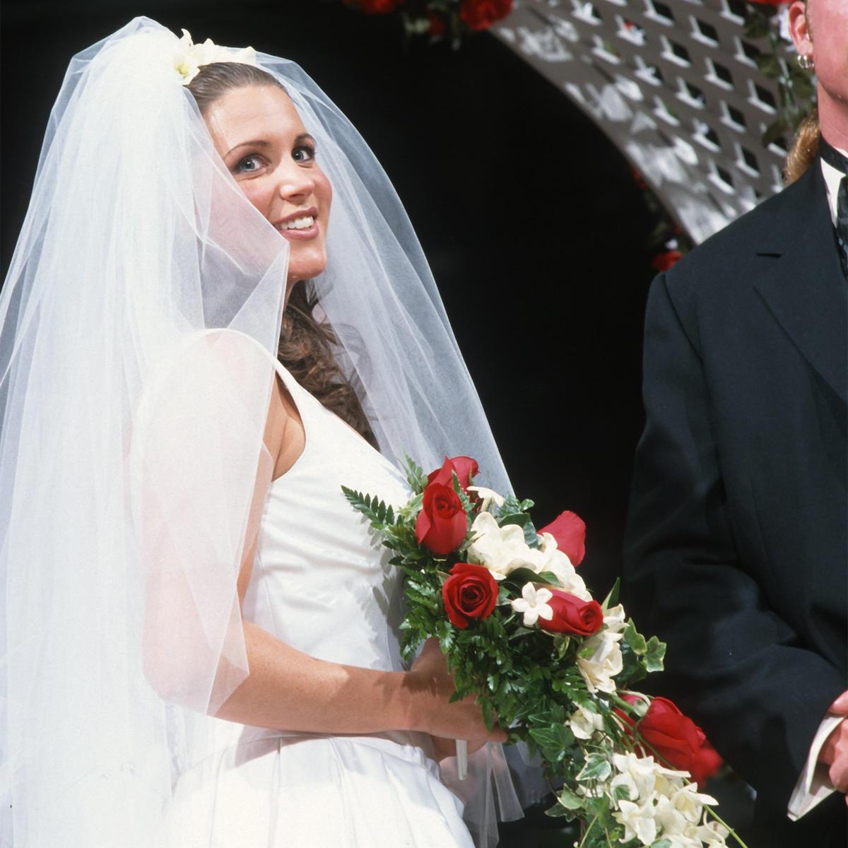 Amateur brides getting naked