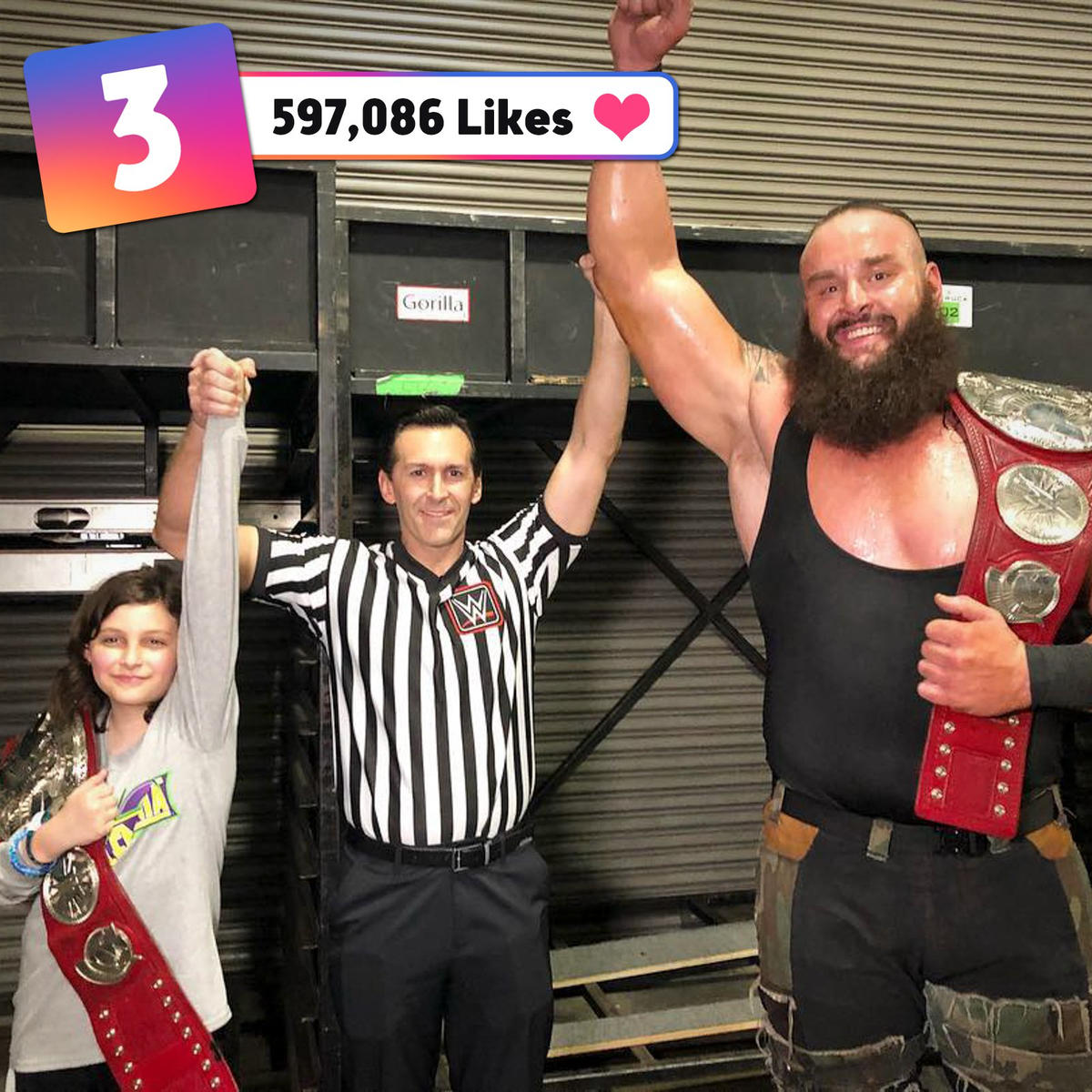 The 50 most liked WWE Instagram posts ever!: photos   WWE