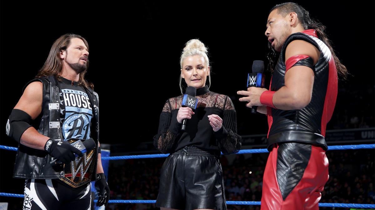 Shinsuke Nakamura vs AJ Styles será em uma Last Man Standing Match