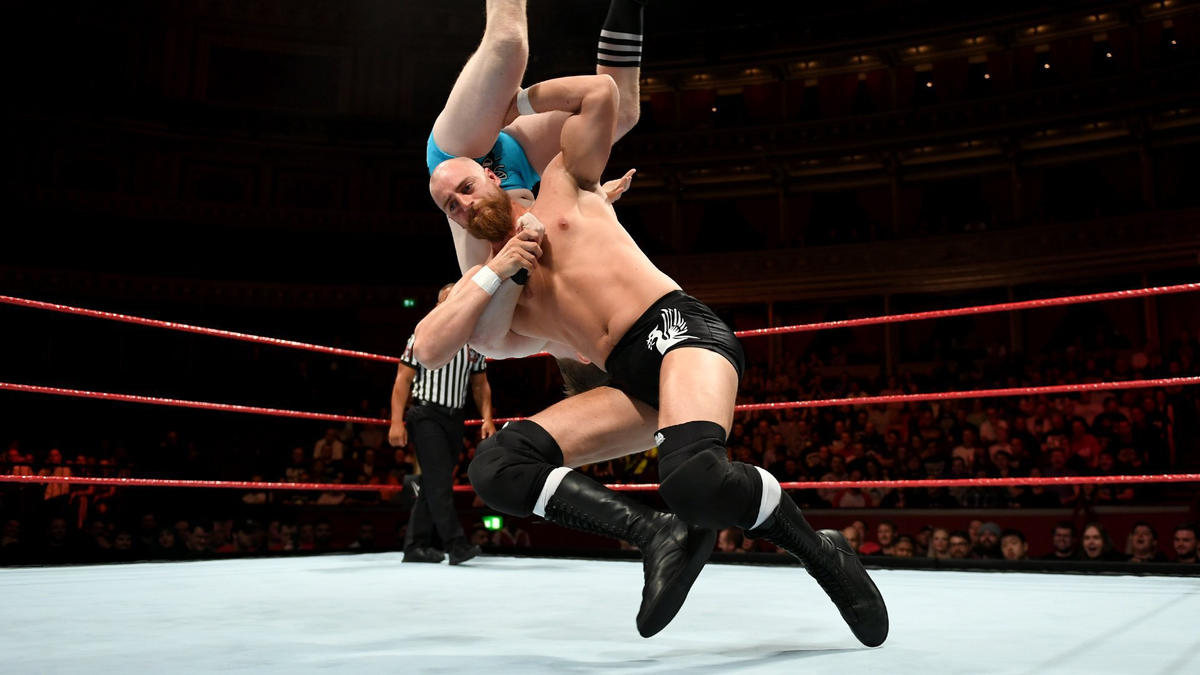 Zack Gibson goes to war against Gentleman Jack Gallagher in the first WWE United Kingdom Championship Tournament Quarterfinals Match.
