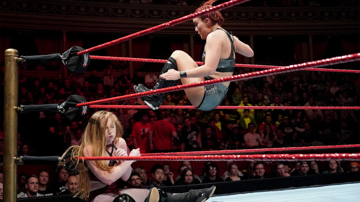 In the wake of the huge news, Toni Storm, Killer Kelly and Isla Dawn square off in a Triple Threat Match for the right to challenge NXT Women's Champion Shayna Baszler on the second night of the special U.K. event at Royal Albert Hall.