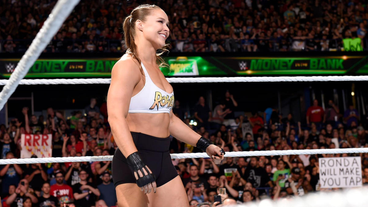 Ronda Rousey Hints Comeback To WWE In-Ring Competition 1