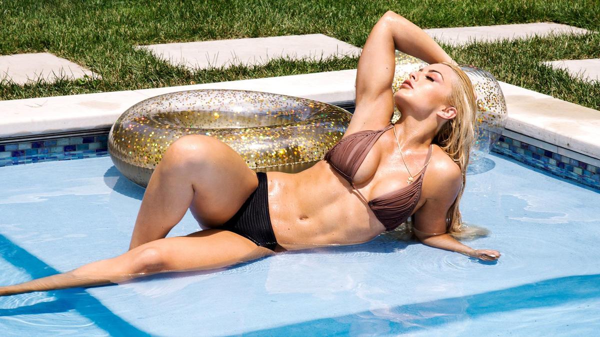 WWE Superstar Mandy Rose Reveals How She Became A Bikini Champion 7