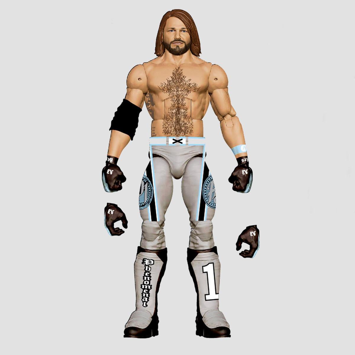 WWE Mattel Virgil Exclusive Elite de Catch Figure