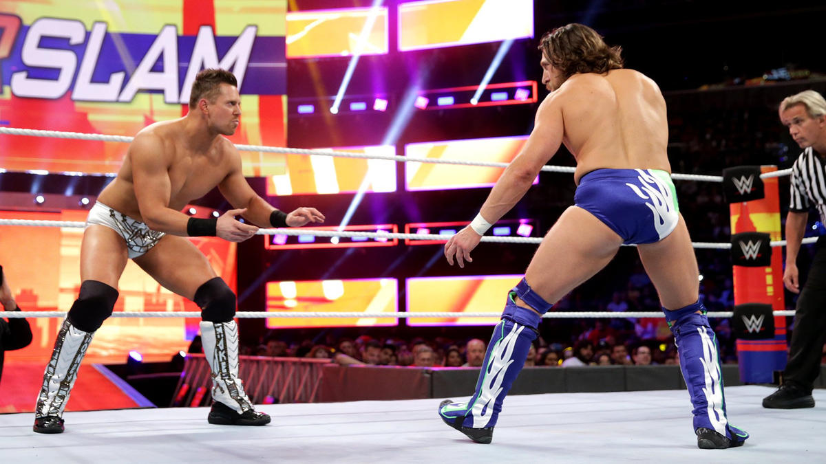 The Miz vs. Daniel Bryan