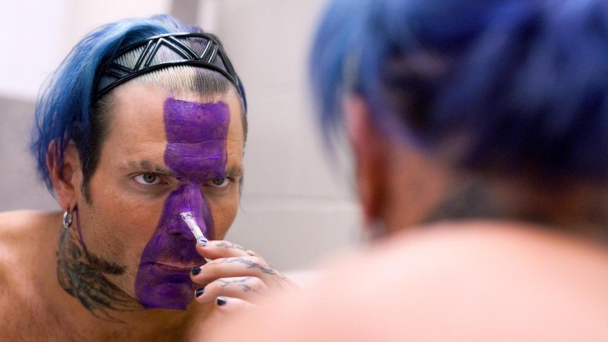 Wwe Jeff Hardy Makeup - Mugeek VidalondonJeff Hardy Wrestlemania 25 Face Paint