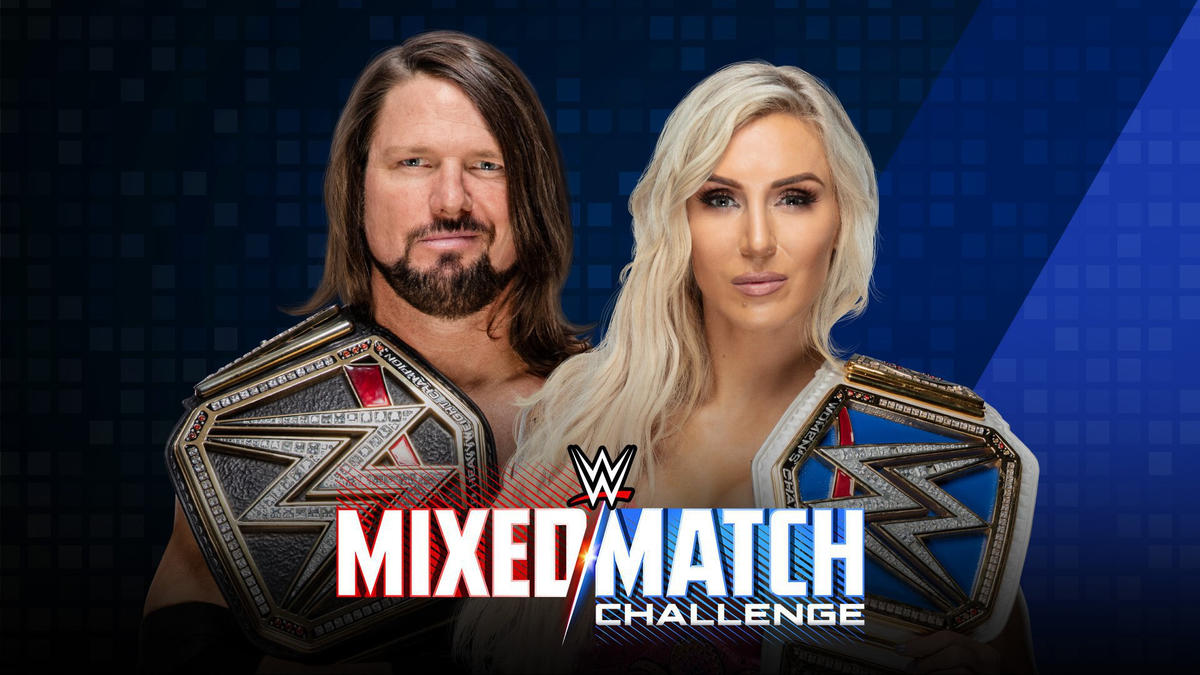 WWE Champion AJ Styles & SmackDown Women's Champion Charlotte Flair