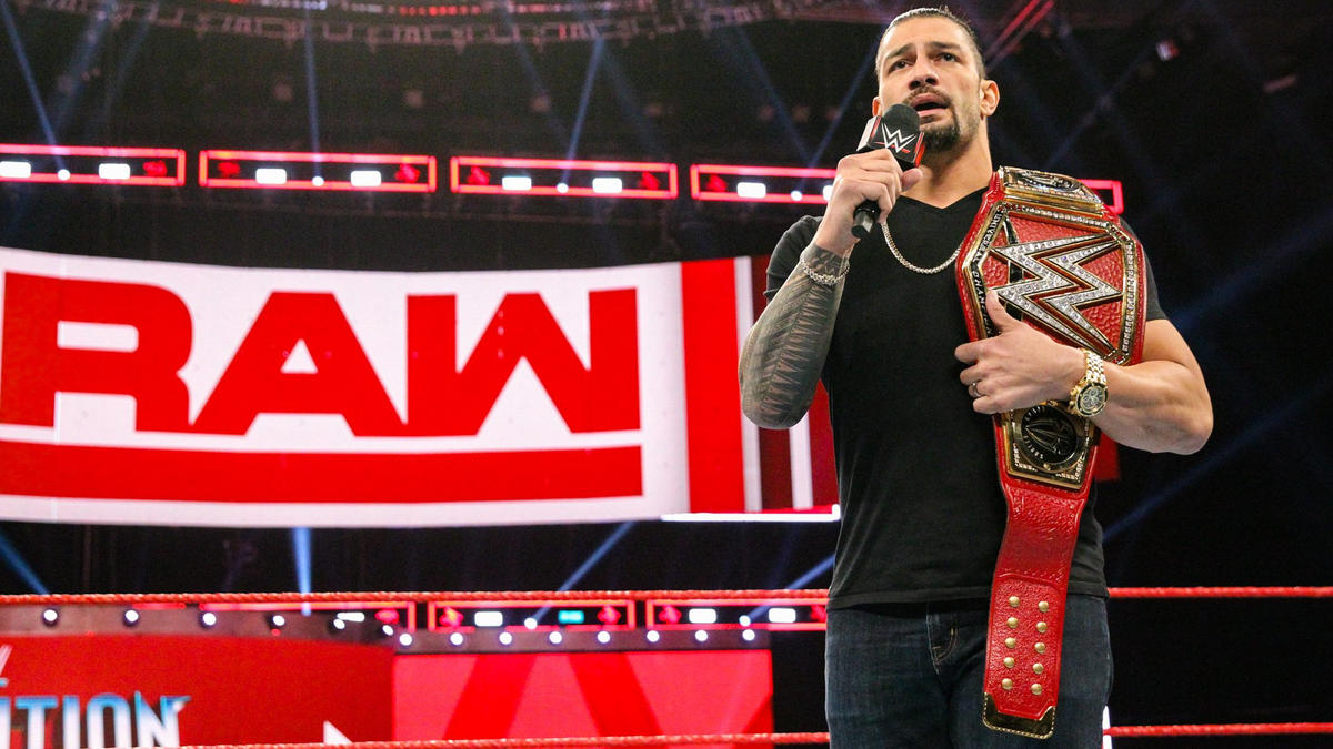The Big Dog tells the WWE Universe they have made his dreams come true, regardless of whether they cheered him or booed him, and he thanks the fans for that.
