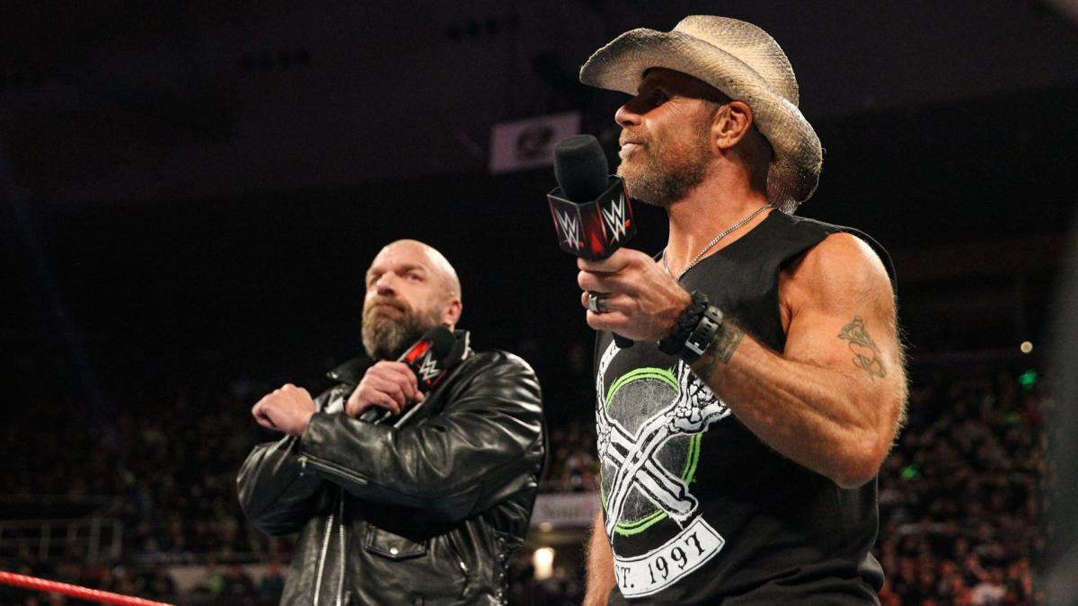 HBK says they ran the past, and they're running everything now.