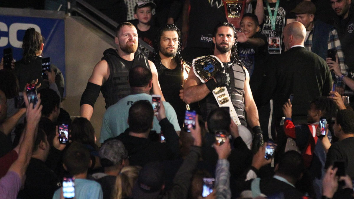 Universal Champion Roman Reigns, Intercontinental Champion Seth Rollins and Dean Ambrose are ready for a main event battle.