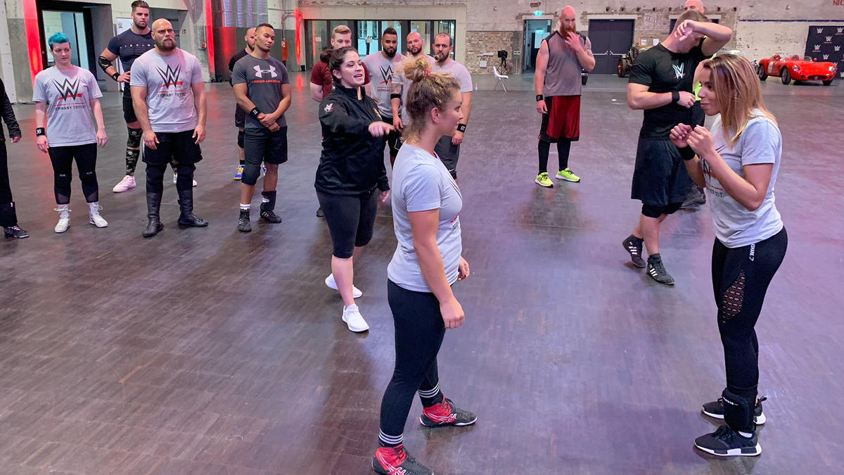 WWE holds its first tryout in Germany: photos | WWE
