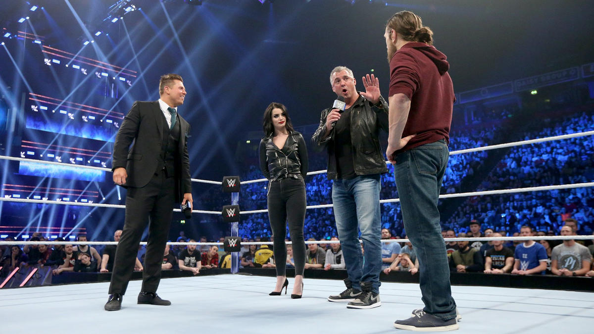 ... and announces Miz and Bryan will be co-captains!