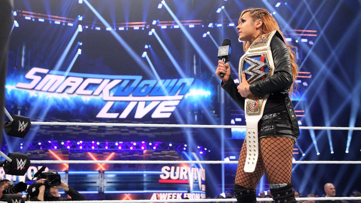 Becky says Ronda Rousey may hold a championship, but she's no champion.