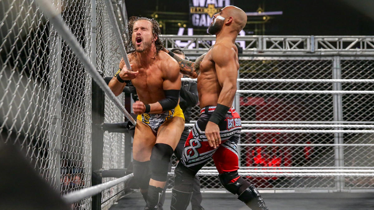 WWE NXT WARGAMES 2 PETE DUNNE RICOCHET WAR RAIDERS A4 PRINT 230GSM WALL ART