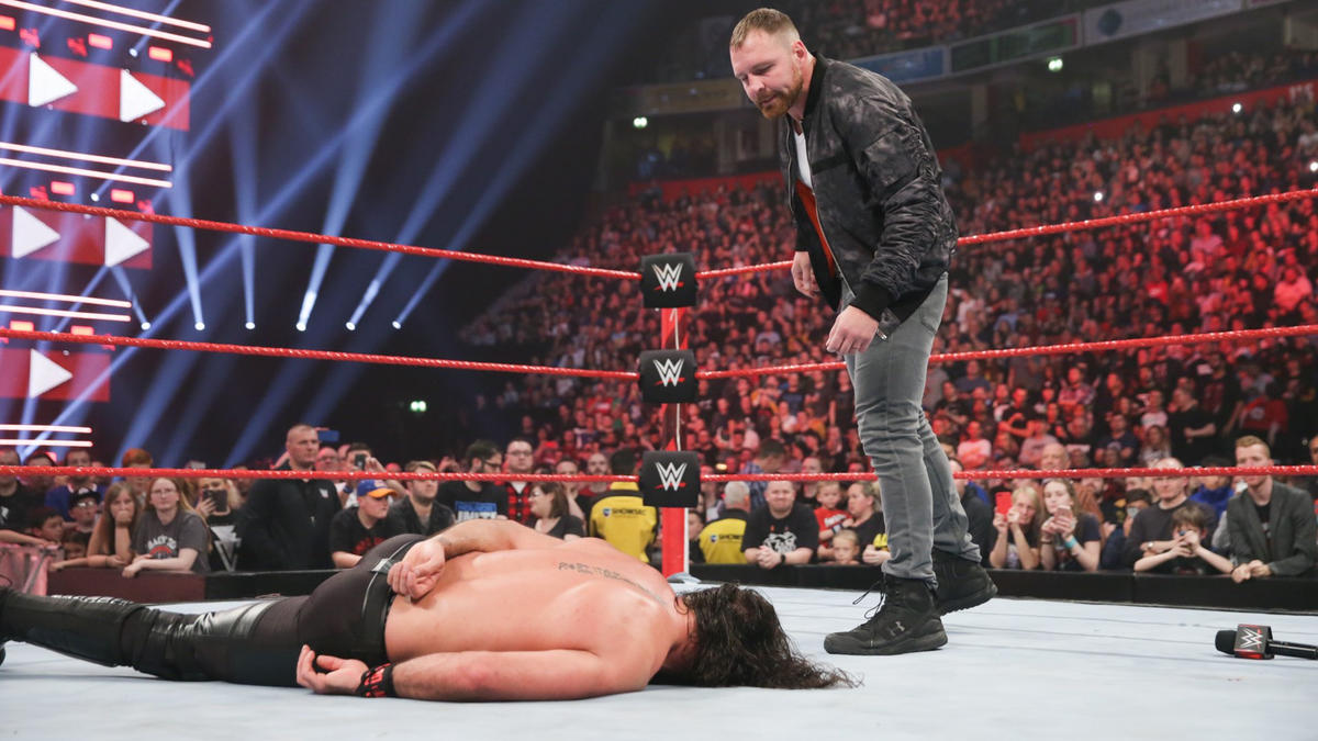 ... and once again refuses to explain why he attacked Rollins.