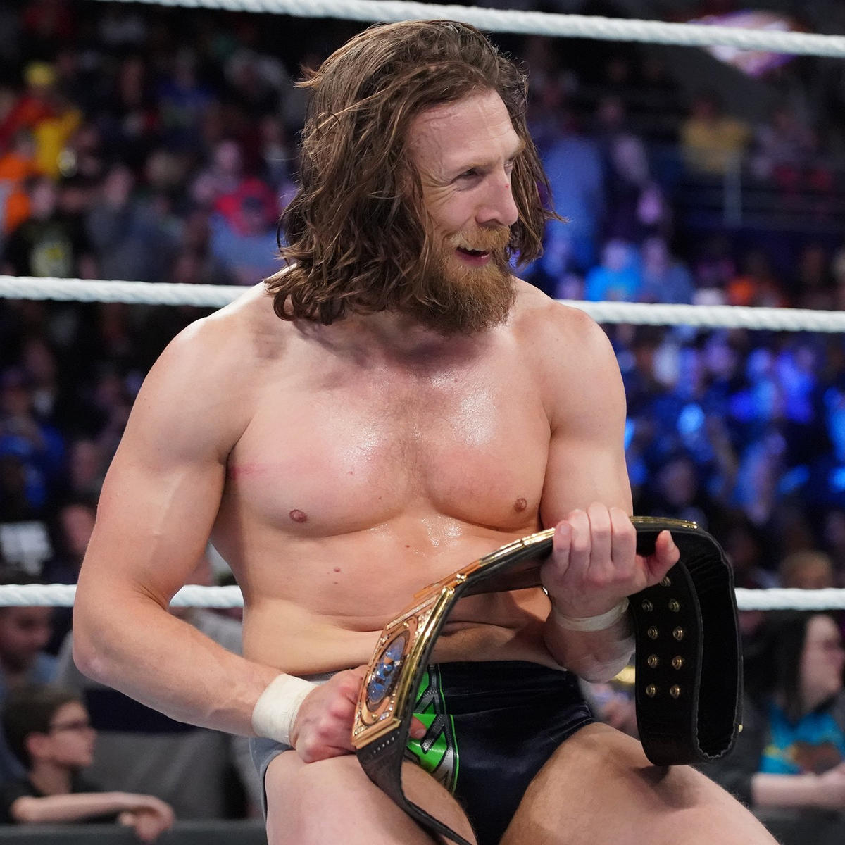 Bryan is the new WWE Champion!