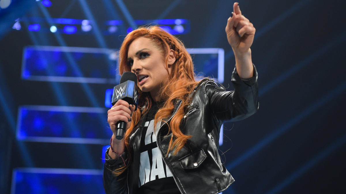 "Becky remembers last WrestleMania when Asuka was supposedly ""unbeatable,"" and she thinks Asuka fell apart after that loss."