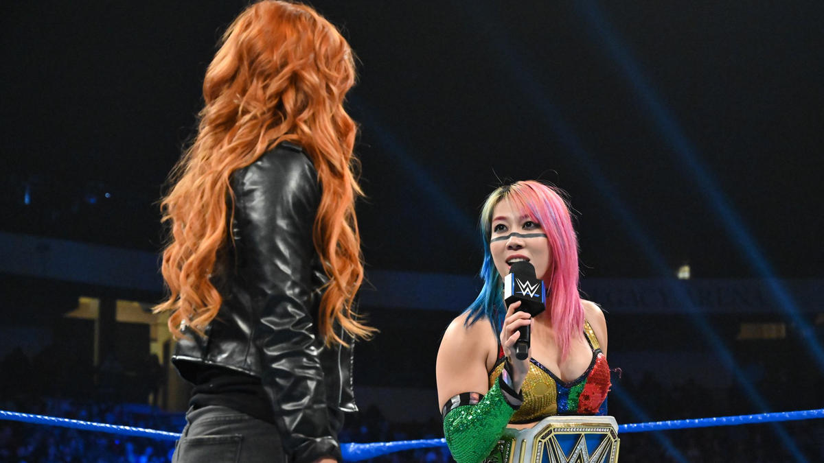 The Empress of Tomorrow claims that Becky will be in Asuka's shadow after Royal Rumble.