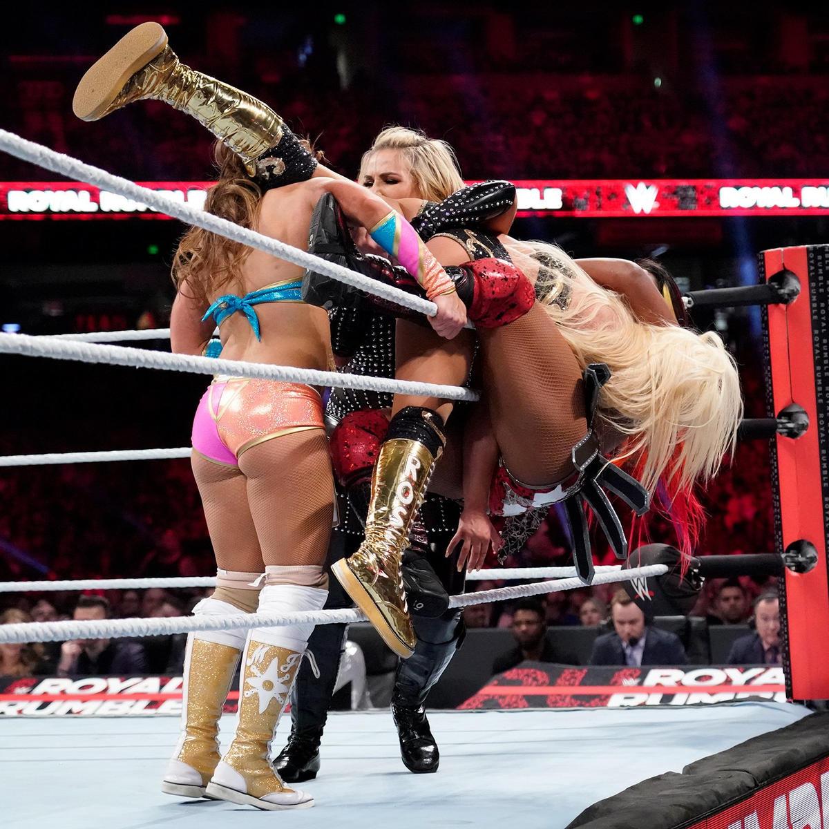 2019 Women's Royal Rumble Match: photos 1/58 Presented by WWE Photo 1/58 Presented by WWE Photo Related Galleries  212_RR_01272019cm_2740--91ceeae5ae54f0bb151922f829c9f977
