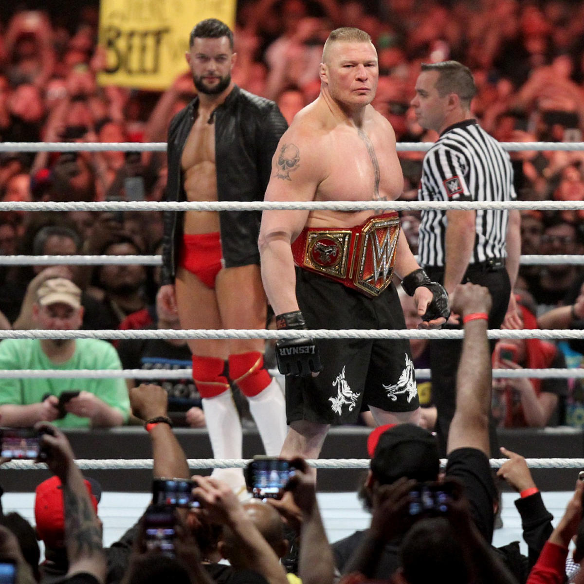 Brock Lesnar vs  Finn Bálor - Universal Championship Match