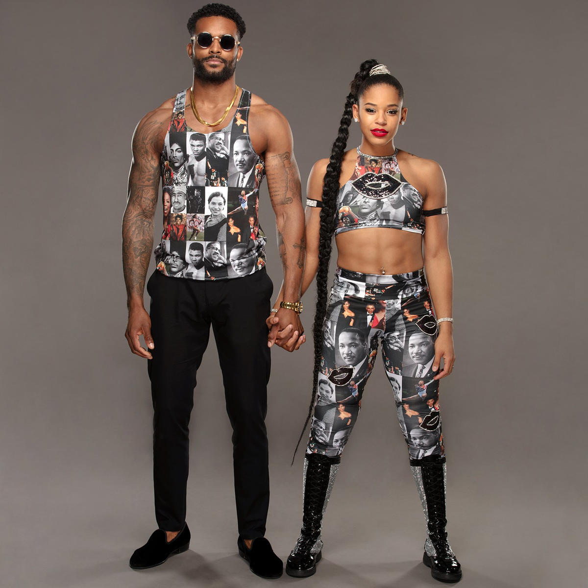 Bianca Belair Montez Ford S Black History Month Inspired Threads Photos Wwe