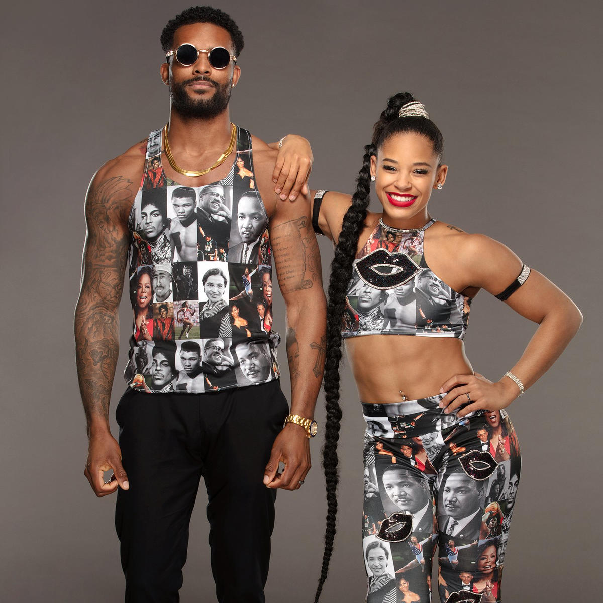 Bianca Belair & Montez Ford's Black History Month-inspired threads: photos | WWE