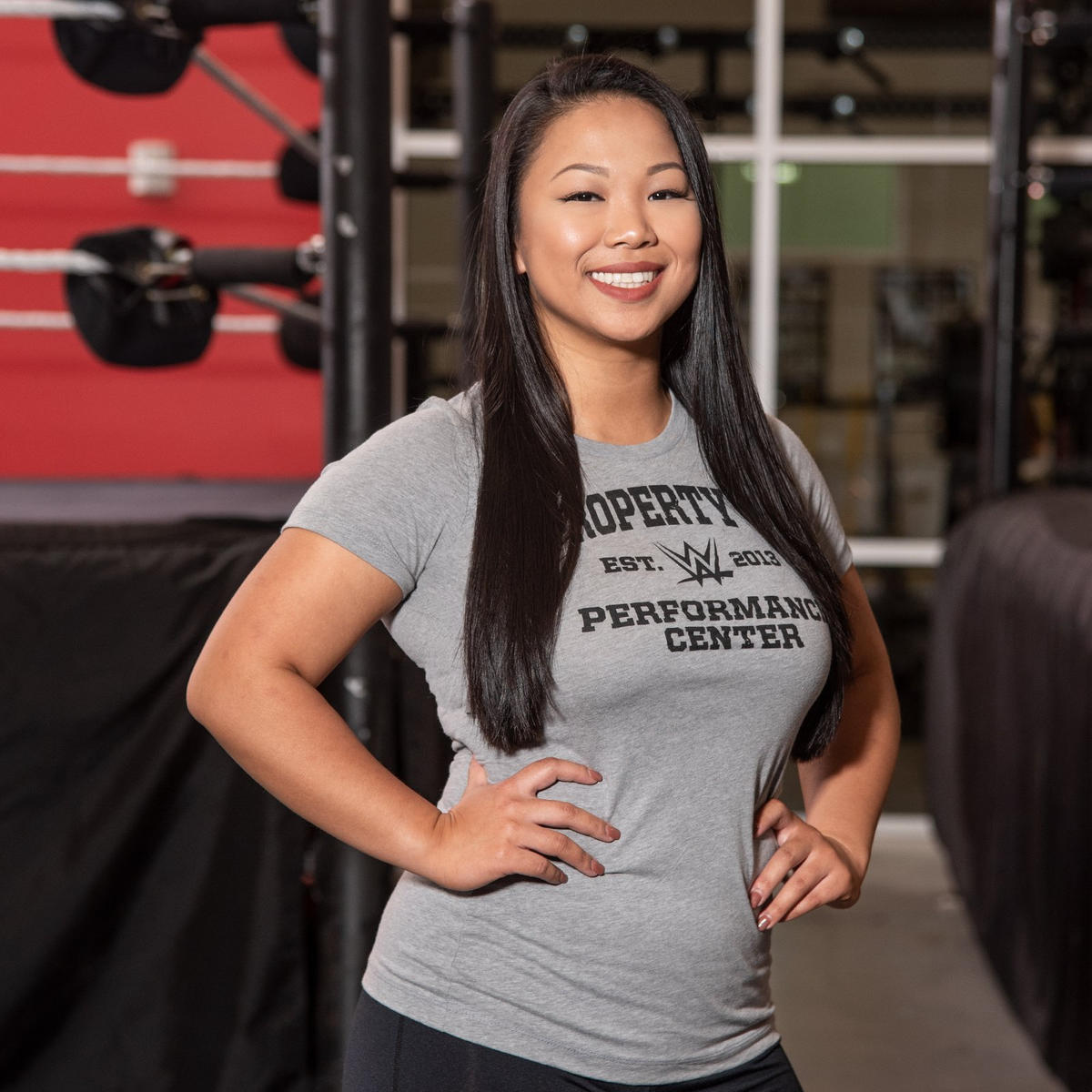 Under the name Karen Q, Karen Yu has become a breakout star on the independent circuit in recent years. She also wrestled in the 2018 Mae Young Classic.