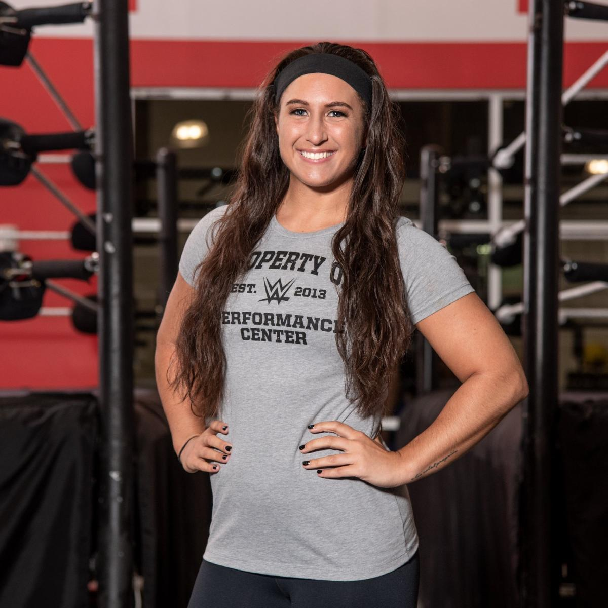 WWE fans will recognize Rachael Ellering, the daughter of WWE Hall of Famer Paul Ellering, from her appearances in the Mae Young Classic.