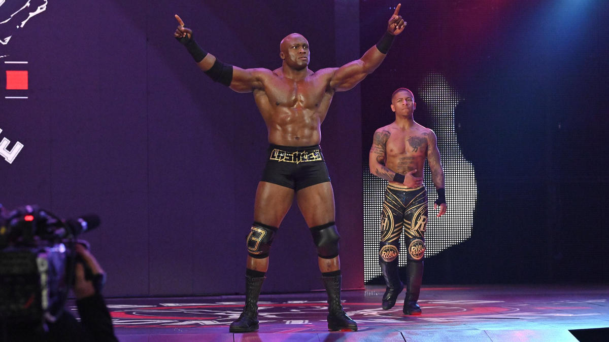 Braun Strowman Dismantles Bobby Lashley And Lio Rush Photos Wwe