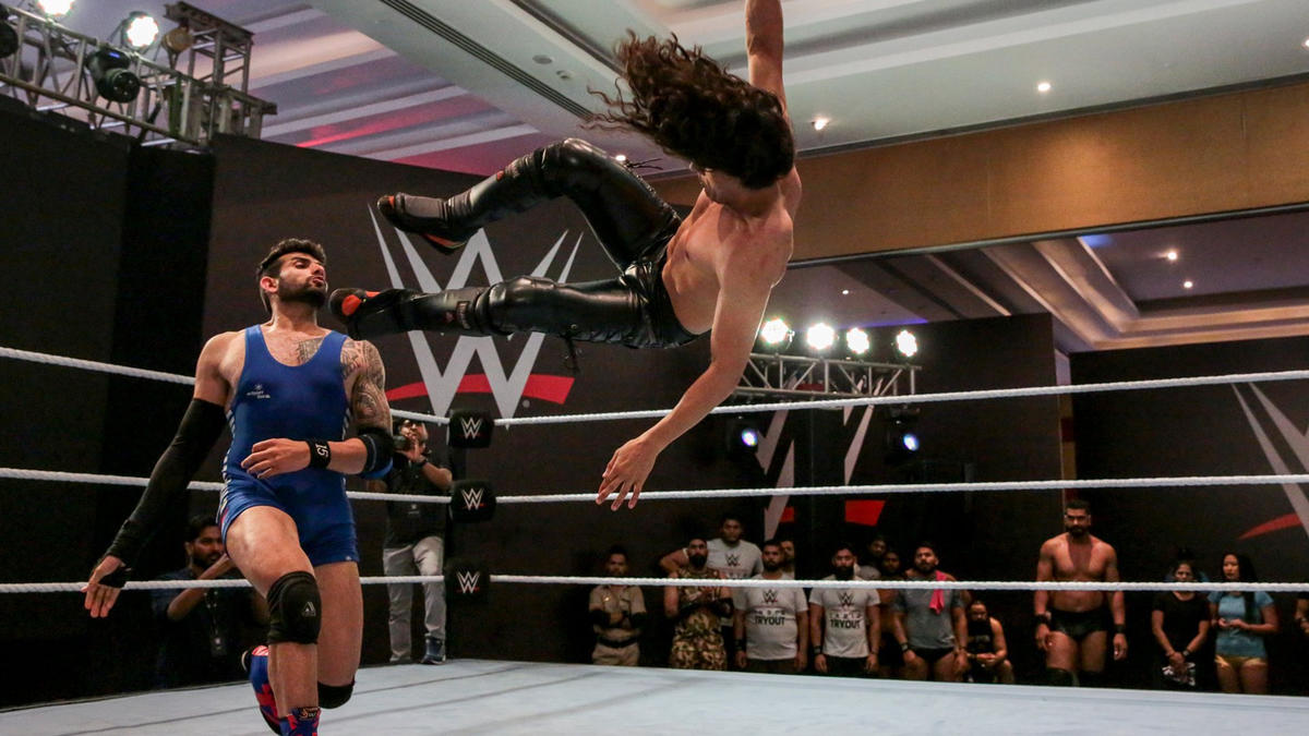 WWE holds a tryout in India, March 2019 - Day 3: photos   WWE