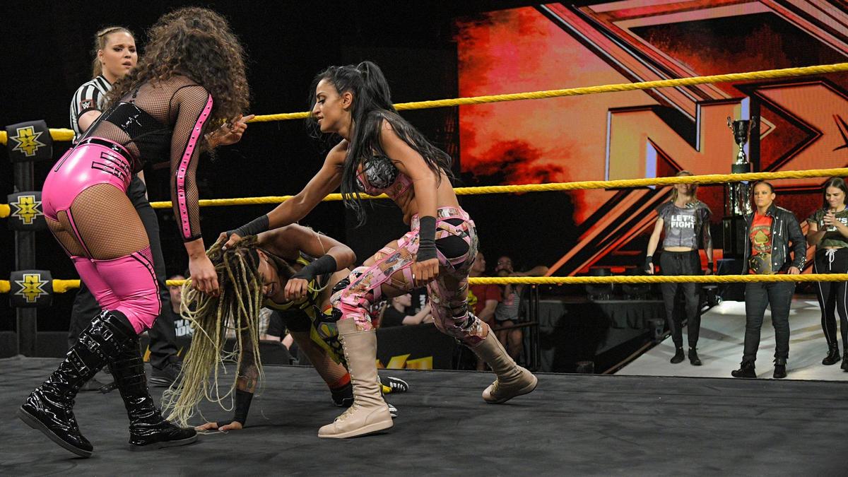 Aliyah e Vanessa Borne vs. Kacy Catanzaro e Lacey Lane - WWE