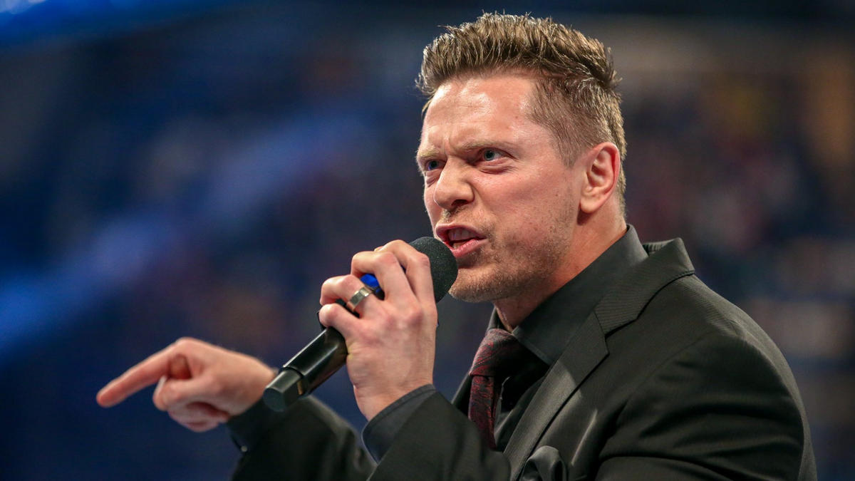 He says Shane has only earned one thing in his life… a beating from him at WrestleMania.