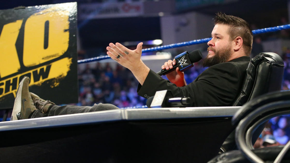 """Kevin Owens hits the scene to host """"The Kevin Owens Show."""""""