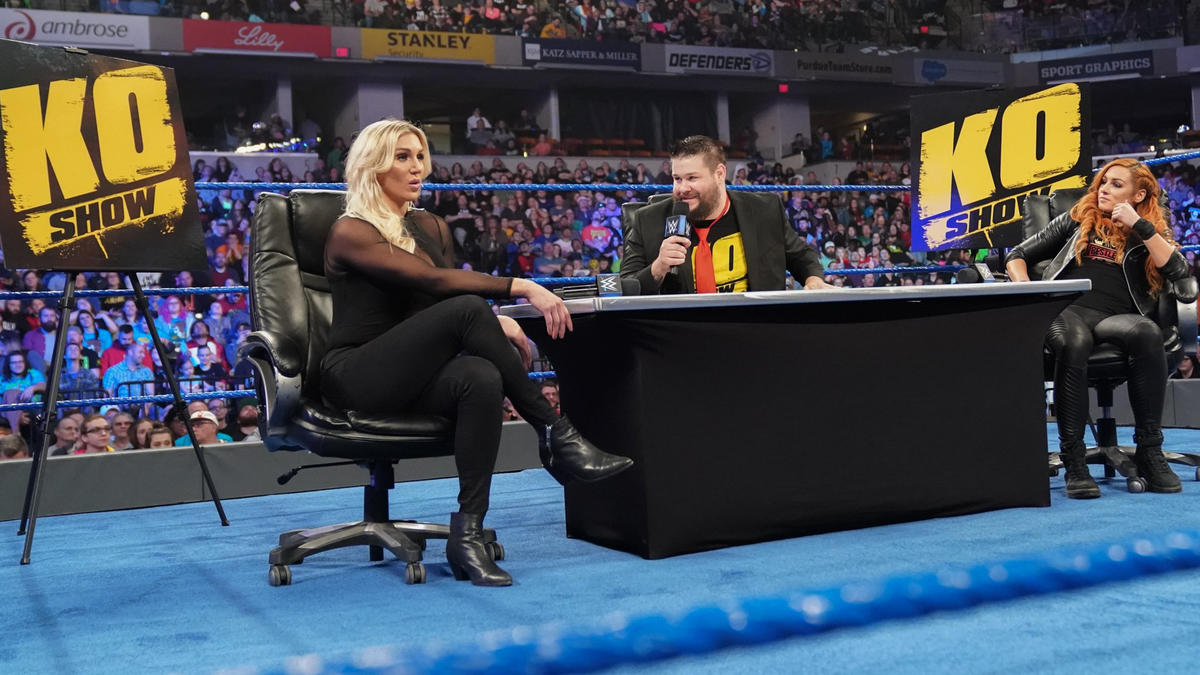 KO's second guest is Charlotte Flair!